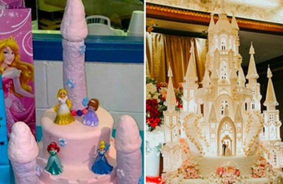 16 bolos que não dá para comer: 8 porque são muito feios, 8 porque dá muita dó