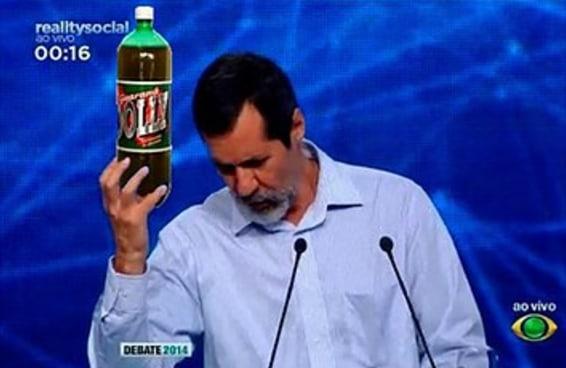 16 imagens que provam que Eduardo Jorge venceu o debate (pelo menos no Twitter)