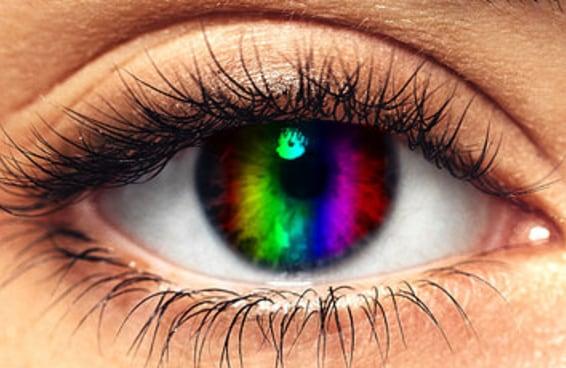 Nem todo mundo consegue enxergar todas as cores do arco-íris e ler estas palavras — será que você consegue?