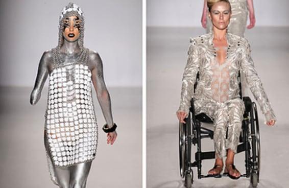 Estes modelos com deficiência foram o destaque de um inspirador desfile da NYFW