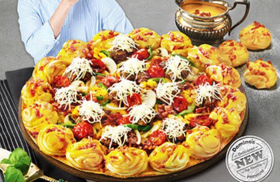 """Pizza """"brasileira"""" na Coreia do Sul vem com churrasco e pão de queijo"""