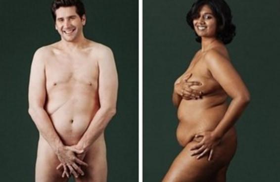 9 pessoas posaram nuas para mostrar como é o corpo de uma pessoa de verdade