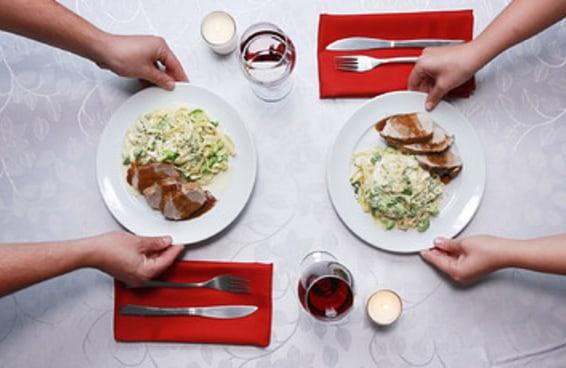 Duas opções de jantar para o dia dos namorados