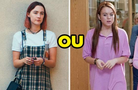 Adivinharemos sua idade com base nos looks de filmes adolescentes que você usaria
