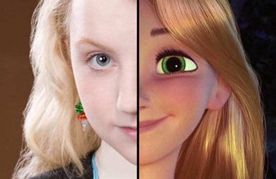 Todo mundo é uma mistura de personagens da Disney e de Harry Potter - aqui está a sua