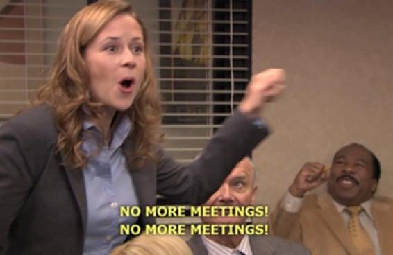 72 pensamentos que você tem quando está em uma reunião estúpida
