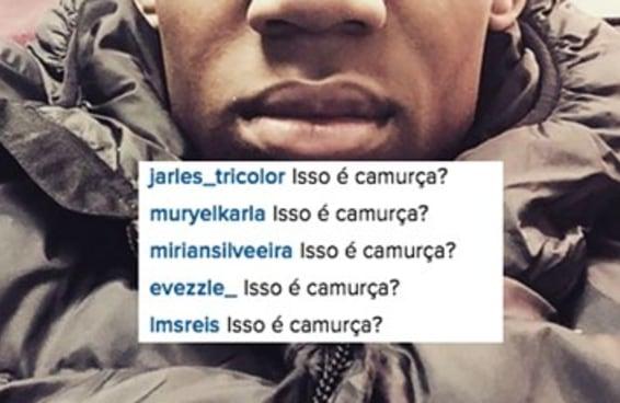 """Tudo o que o ator que fez o """"Chris"""" posta no Instagram vira meme para os brasileiros"""