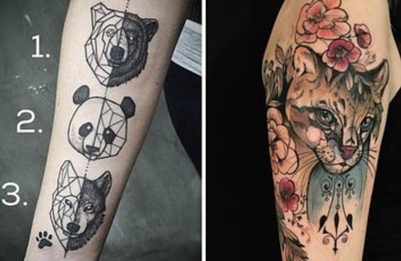 19 tatuagens para quem ama muito animais