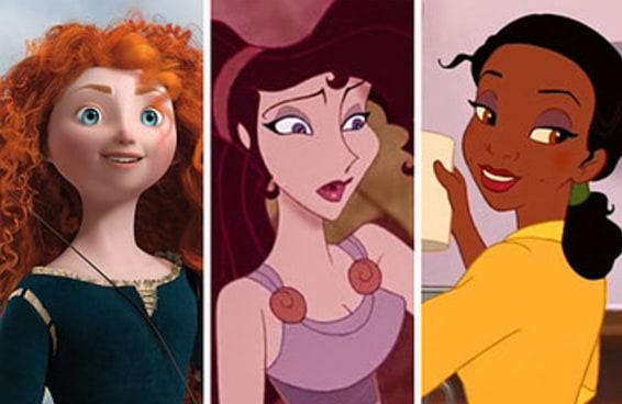 Todo mundo é uma mistura de três mulheres fodas da Disney — e você?