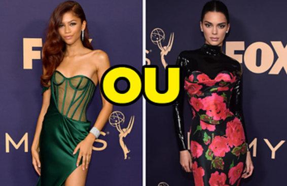 Você só pode escolher um look icônico de cada ano no Emmy, e eu lamento, mas é bem difícil