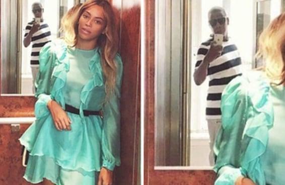 Venha rir você também desta foto da Beyoncé com o Jay Z