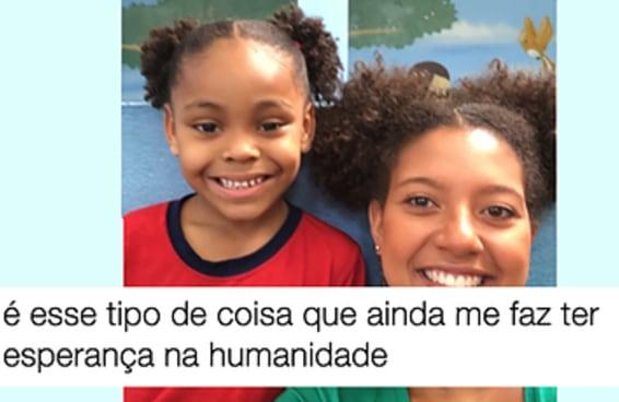 Ana Bárbara usou o próprio penteado para aumentar a autoestima da sua aluna