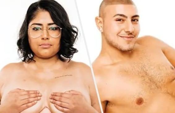 Dez pessoas posaram nuas para celebrar a positividade corporal, e o resultado foi lindo