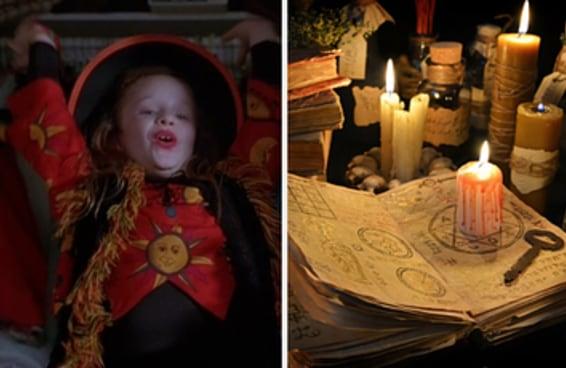 Quem é você em Abracadabra?