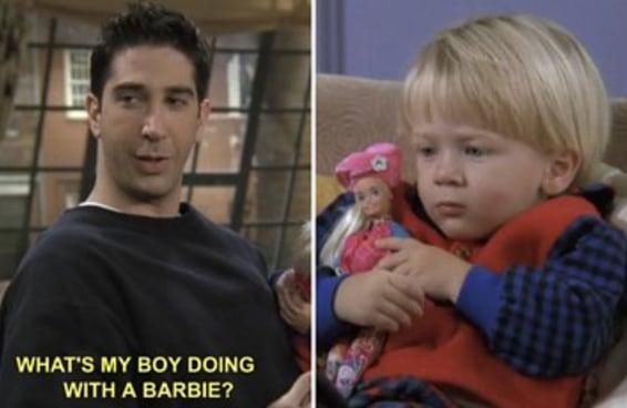 """29 momentos de """"Friends"""" que provam que Ross Geller é realmente o PIOR"""