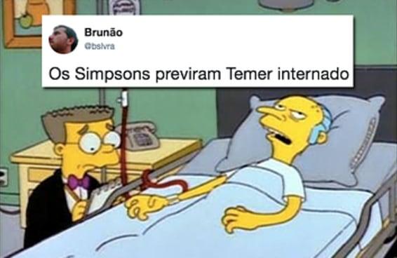 15 reações da internet à internação de Temer