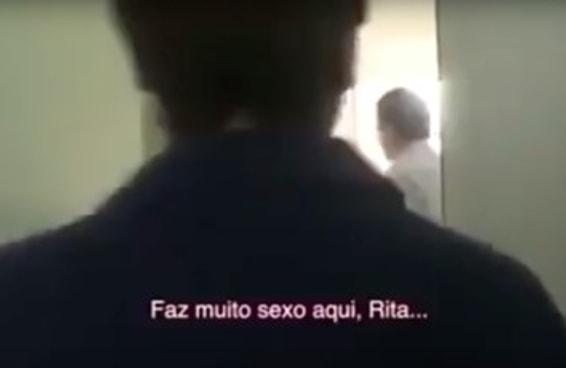 """As pessoas estão chocadas com um vídeo do Paes mandando uma moradora """"trepar muito"""""""
