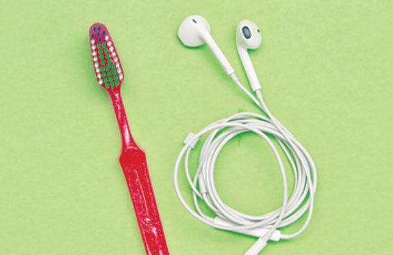 Você deveria limpar mais seus fones de ouvido
