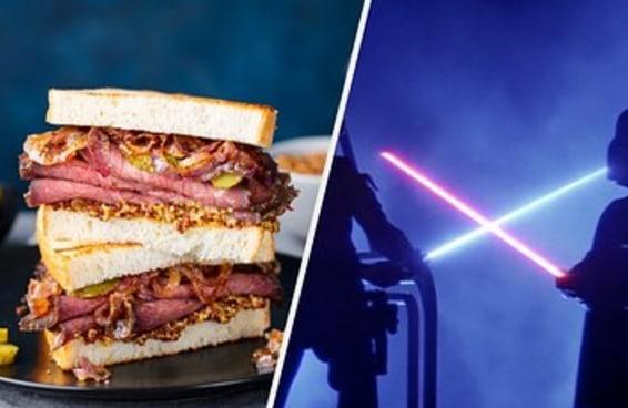 Monte um sanduíche e revelaremos se você é um Sith ou um Jedi