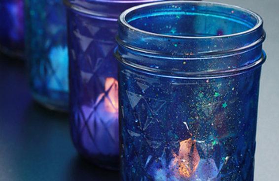 Decore sua casa com este lindo copo galáxia