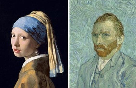 Reaja a estes quadros de arte clássica e diremos quem deveria pintar seu retrato