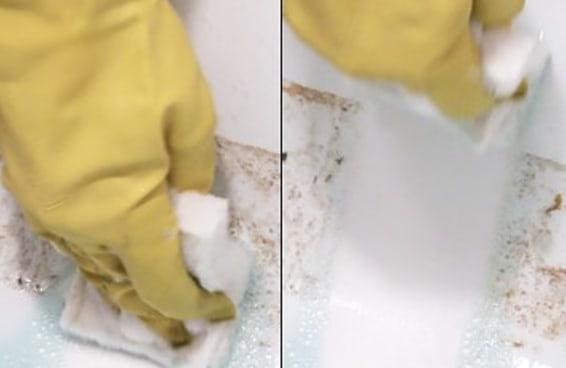 Gaste menos tempo esfregando com este truque de limpeza para banheiros
