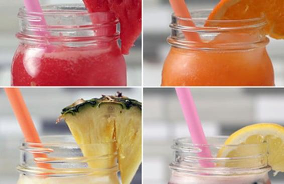Estes refrescos de fruta são perfeitos para o verão