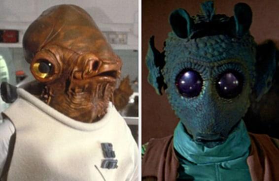 """Você consegue identificar estes personagens obscuros da trilogia original de """"Star Wars""""?"""