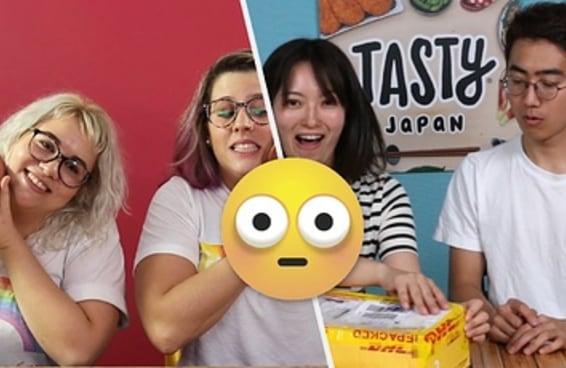 Depois de cozinhar com um ingrediente mexicano misterioso, chegou a hora do Japão nos desafiar