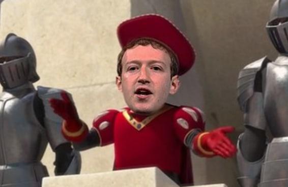 """Uma teoria da conspiração diz que o logo do Facebook é cópia de estandarte do """"Shrek"""""""