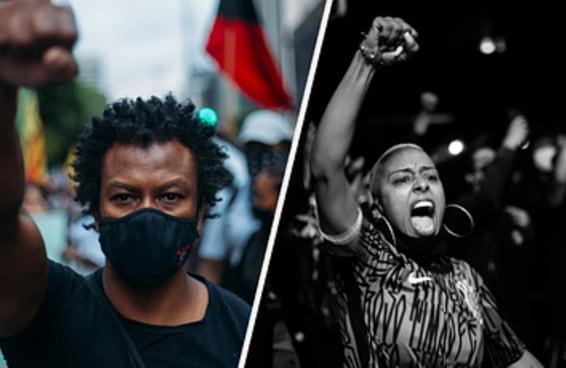Esses retratos mostram como foi o ato do Dia da Consciência Negra em São Paulo
