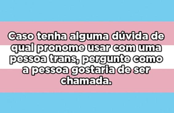 A Gabriela fez um post sobre como é ser uma mulher trans