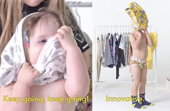 Estas crianças se vestiram sozinhas pela primeira vez e o resultado foi muito engraçado