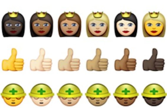 Apple anuncia emojis com diversidade racial
