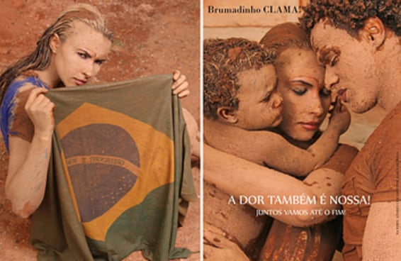 Esta marca de cosméticos teve a coragem de fazer uma campanha inspirada em Brumadinho