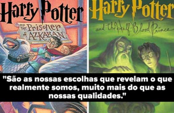 """Só quem leu a série """"Harry Potter"""" infinitas vezes vai adivinhar de qual livro saíram estas citações"""