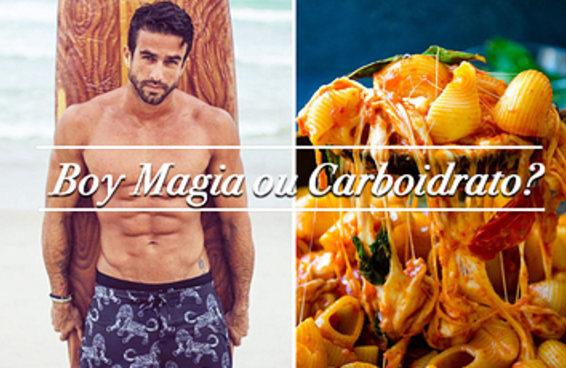 Quiz: boy magia ou carboidrato?