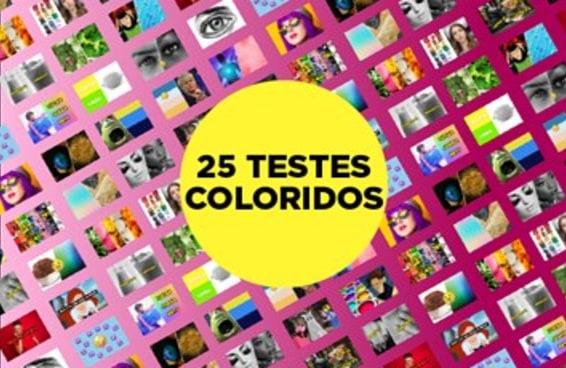 25 testes do BuzzFeed sobre cores para animar o seu dia