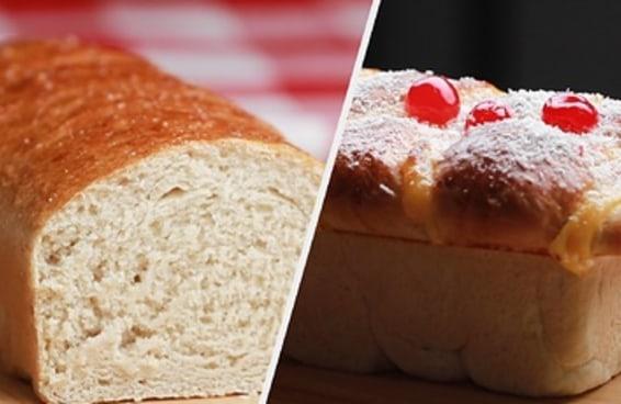 Tenha pão quentinho todos os dias com essa massa versátil!