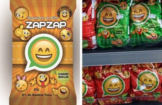 O salgadinho Zap Zap existe e custa apenas R$ 1,00