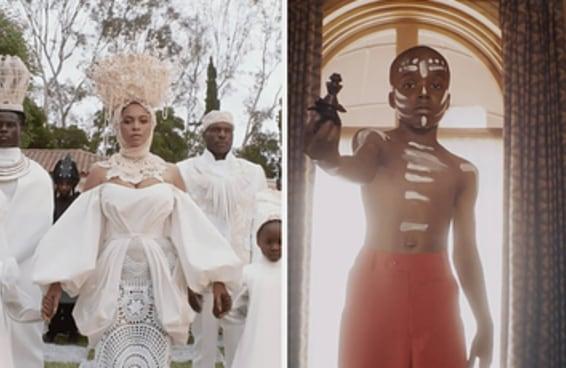 Aqui estão os visuais mais poderosos e simbólicos do novo filme da Beyoncé