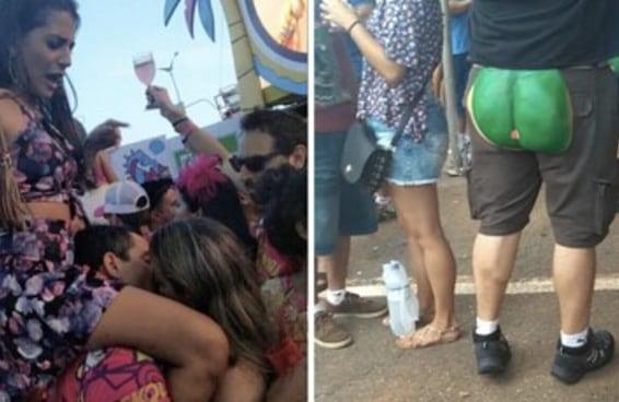 12 imagens que mostram que a regra do Brasil no carnaval foi não ter regra