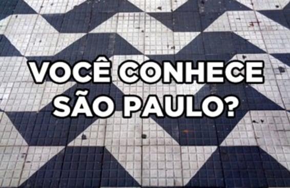Você conhece bem a cidade de São Paulo?