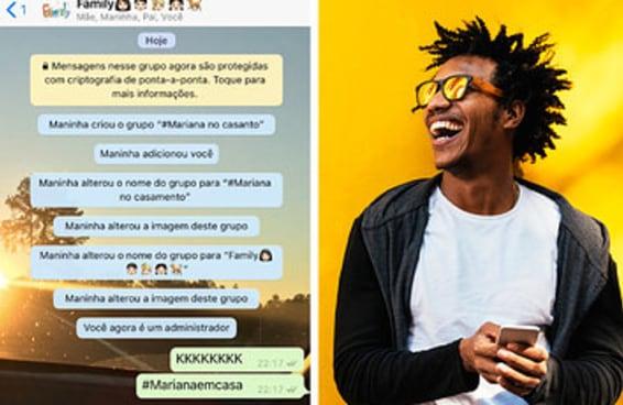 Só um brasileiro de verdade participou de mais de 10 destes grupos de WhatsApp