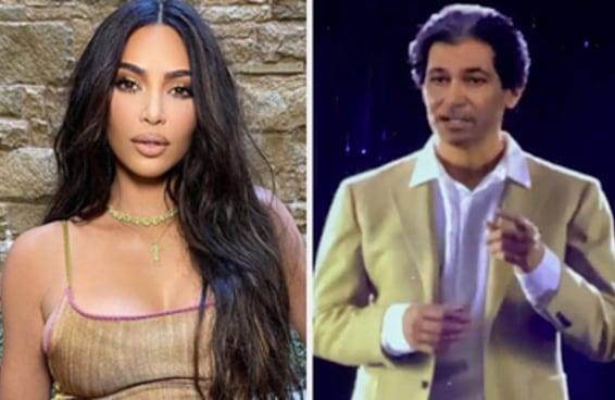 """O presente de aniversário do Kanye West para a Kim Kardashian foi um holograma do pai dela que já faleceu parabenizando-a por ter se casado com """"o homem mais genial do mundo"""""""