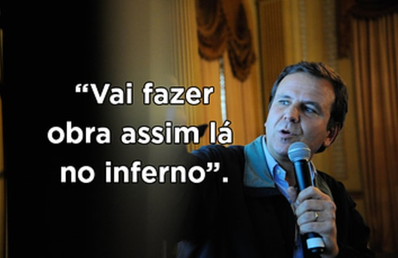 As frases mais absurdas do prefeito anfitrião da Olimpíada