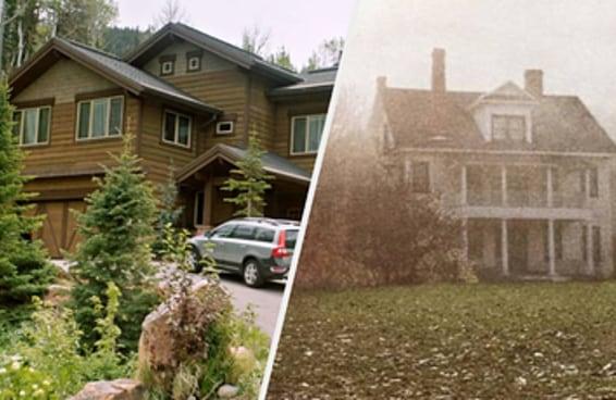 Você sabe dizer em quais filmes de terror essas casas assustadoras aparecem?