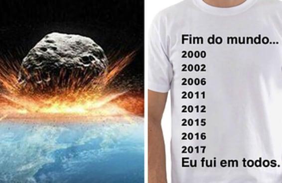 Houve um tempo em que as pessoas temiam o fim do mundo, não em 2017