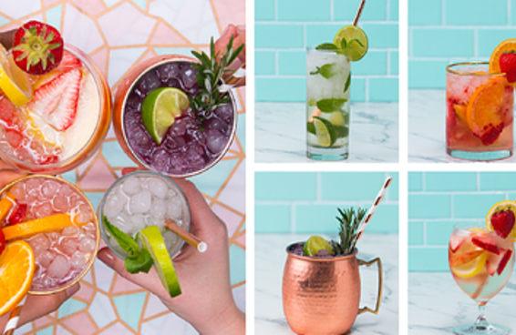 Junte os amigos para fazer estes drinques super refrescantes