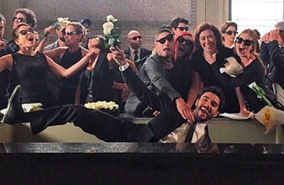 """Esta foto de bastidores prova que o elenco de """"Império"""" se diverte demais nas gravações"""